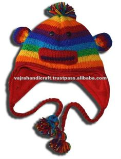 Knitted animal Hats with Inner Fleece. Available in Children and Adult sizes. We have wide varieties of animal hats.