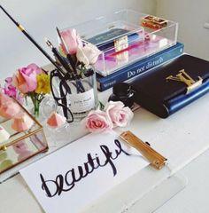 desk via The Apartment