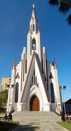 Igreja do Cristo Rei - Bento Gonçalves - Rio Grande do Sul - Brasil