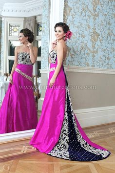 Wedding Reception Dresses & Evening Gowns- With out that slit in ...
