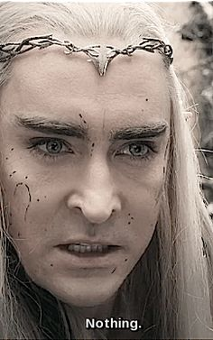 Lee Pace as Thranduil in The Hobbit Trilogies (gif)