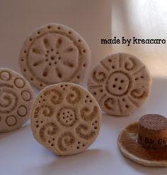 Keksstempel selbermachen aus Salzteig www.handmadekultur.de