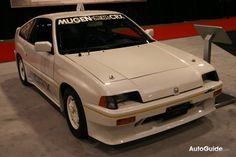 1985 honda crx built by Mugen Power