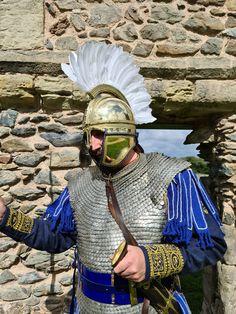 Roman Armor, Pax Romana, Byzantine Art, Armours, Dark Ages, Roman Empire, Cosplay Costumes, Rome, Concept Art