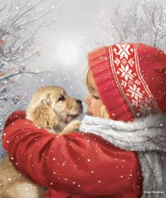Winter Christmas Scenes, Christmas Scenery, Christmas Animals, Christmas Love, Winter Scenes, Christmas Pictures, Christmas Greetings, Christmas Crafts, Holiday
