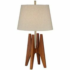 """Pacific Coast Lighting 87-112-9G Quatro Zona Table Lamp by Pacific Coast Lighting. $149.91. Pacific Coast Lighting 87-112-9G Features: -Table lamp. -Finish: Dark fruitwood. -Portable lighting. Dimensions: -Overall dimensions: 32"""" H x 17"""" W. -Product weight: 6 lbs."""