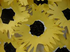 Materials: - Paper Plates (one for each child) - Black Tempera Paint - Paintbrushes - Brown Tissue Paper - Yellow Construction Paper -. Craft Activities For Kids, Crafts For Kids, Arts And Crafts, Paper Crafts, Preschool Ideas, Spring Art, Spring Crafts, Kindergarten Projects, Activities For Kids