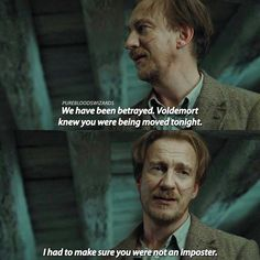 [Deathly Hallows part 1] Remus spent his life protecting others, what a beautiful soul 😭