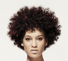 Flirty Black Very Curly Hair In Trendy Afro Hairstyle