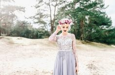 Videographers: The Dreamers Bridal Accessories, Hair Pieces, Beautiful Bride, Pantone, The Dreamers, Veil, Wedding Styles, Floral Design, Couture