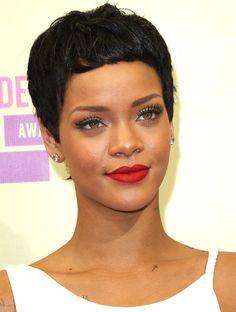 Rihanna's Retro Glam