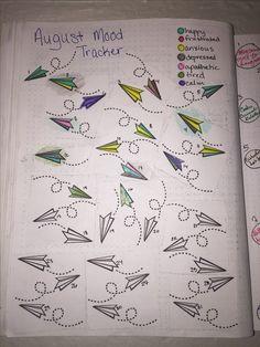 Image result for bullet journal march mood tracker