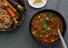 lentil & chickpea soup; day 8 of BA's food lover's cleanse