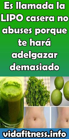 El Bicarbonato de Sodio Elimina la Grasa de la Barriga, Brazos y Espalda pero so. Healthy Juices, Healthy Drinks, Healthy Eating, Diet And Nutrition, Clean Eating Recipes, Easy Healthy Recipes, Natural Body Detox, Weight Loss Juice, Creme Anti Age