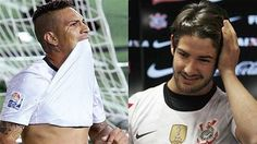 Sport Club Corinthians Paulista - Paolo Guerrero and Alexandre Pato