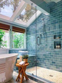 Diy Interior, Bathroom Interior Design, Design Bedroom, Farmhouse Interior, Farmhouse Design, Farmhouse Decor, Bedroom Decor, Decor Room, Interior Lighting
