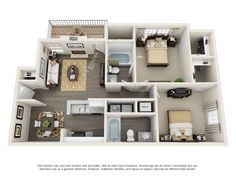 One Two And Three Bedroom Apartments In Mauldin Sc Steadfast Apartment Rental Mauldin Southcar Apartment Layout Small House Floor Plans House Layouts