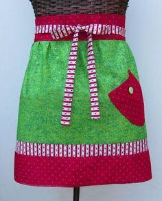 Free Christmas Wrap Apron Sewing Pattern