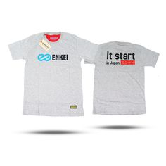 "Enkei T-Shirt ""It Start in Japan"" spec: made from 24s cotton combed with plastisol printing ready size S,M,L,XL,XXL IDR : Rp. 120.000 - $ 10 Contact: ..."