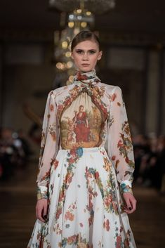 Collection 'the New Romantics ' by Addy van den Krommenacker Couture Spring Summer 2018  #rococo