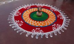 Decorate your house with colorful, beautiful & attractive happy diwali rangoli designs. We have provided best rangoli designs for deewali festival Sanskar Bharti Rangoli Designs, Rangoli Patterns, Rangoli Designs Images, Rangoli Ideas, Rangoli Designs With Dots, Rangoli Designs Diwali, Beautiful Rangoli Designs, Ganesh Rangoli, Diya Rangoli