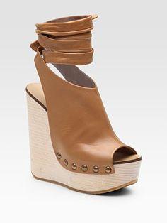 Chloé  Leather Platform Wedge    | http://www.saksfifthavenue.com/main/ProductDetail.jsp?FOLDER%3C%3Efolder_id=2534374306545067&PRODUCT%3C%3Eprd_id=845524446421621&R=462236030600&P_name=Chloe&N=306545067&bmUID=joS1Im0