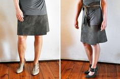 Here at Brit HQ, we're nuts about no-sew projects, especially when it comes to recycling our wardrobe. We've shown you needle and thread-less ways to hack your skirts in the past, and now we're branching out to seasonal essentials with these 20 no-sew styles fit for fall. You know what they say: reduce, reuse, and rock it out!
