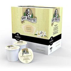 Van Houtte French Vanilla Coffee Keurig K-Cups, 18 Count