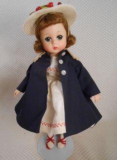 Vintage Madame Alexander Lissy 1957 in Navy Coat w Hat Dress Shoes Darling   eBay