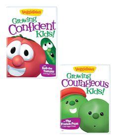 This VeggieTales: Growing Confident & Courageous Kids DVD Set by VeggieTales is perfect! #zulilyfinds