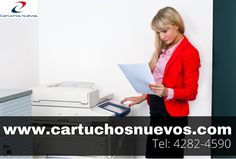 Cartuchos de tinta o toner para impresoras Hace tu pedido hoy mismo al (011) 4282-4590 o mediante nuestra web www.cartuchosnuevos.com