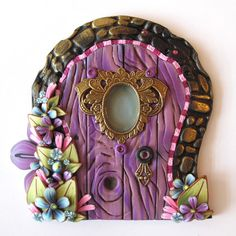 Hey, I found this really awesome Etsy listing at https://www.etsy.com/listing/195430124/purple-palace-fairy-door-pixie-portal