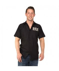 Sun Record Hop Workshirt Black