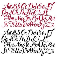 Tattoo Letter Styles