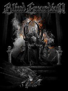 Really cool Blind Guardian poster.