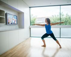 Workout videos can help you get moving at home when you can't go to the gym. Stream or buy these top workout videos and DVDs for your next at-home workout. Fitness Workouts, Yoga Fitness, Easy Workouts, At Home Workouts, Fitness Dvd, Health Fitness, Easy Fitness, Anytime Fitness, Training Apps