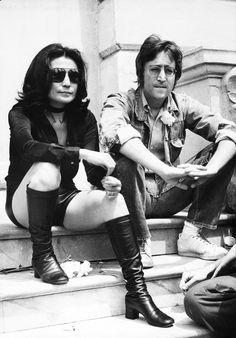 Les plus beaux couples du festival de Cannes John Lennon et Yoko Ono