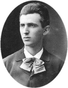 Young Nikola Tesla. Invented a whole lot of things that other inventors claimed for themselves. I'm looking at you, Thomas Edison.