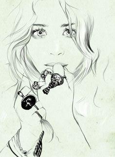 Mary Kate Olsen by Caroline Andrieu