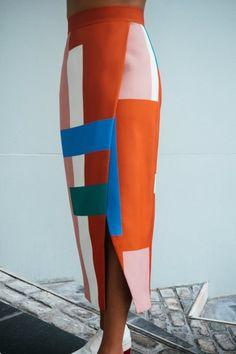 Solange Knowles C/MEO for Saint Heron Better Things Skirt, $230. -MLV