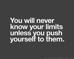 push your limites
