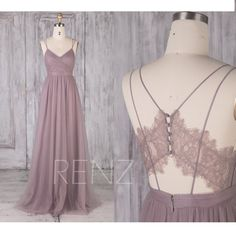 Bridesmaid Dress Mauve Wedding Dress V Neck Prom Dress Long Illusion Lace Back T. - Bridesmaid Dress Mauve Wedding Dress V Neck Prom Dress Long Illusion Lace Back Tulle Dress with Spaghetti Strap V Neck Prom Dresses, Long Bridesmaid Dresses, Wedding Dresses, Dress Prom, Sequin Bridesmaid, Violet Prom Dresses, Plain Prom Dresses, Bridesmaid Color, Bridesmaid Outfit