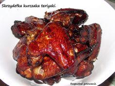 Rozpustne gotowanie: Skrzydełka kurczaka teriyaki.