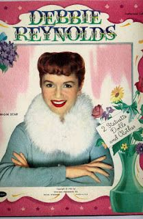 Debbie Reynolds' paper dolls. I have these in my collection.