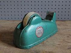 Vintage Durex tape dispenser | H is for Home http://hisforhome.com/shop