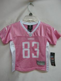 Vincent Jackson San Diego Chargers Pink NFL Toddler Replica Jersey $5.99