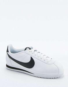 52b354a79de3 Nike Classic Cortez White Leather Trainers 1 Nike Classic Cortez