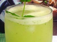 Receitas - Suco de melão - Petiscos.com