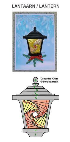 Irisvouwen: Lantaarn / Lantern