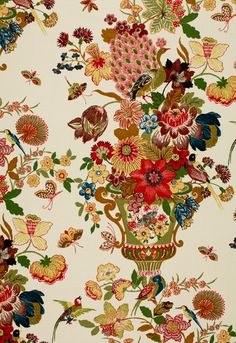 Schumacher Lansdale Bouquet Spring